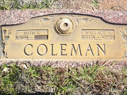 Ruth Johanna <I>Edmondson</I> Coleman