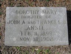Dorothy Mary Ansel