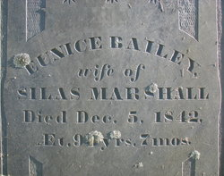 Eunice <I>Bailey</I> Marshall