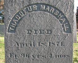 Thaddeus Marshall