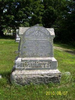 "Harriet A ""Hattie"" <I>Adams</I> Cammett"