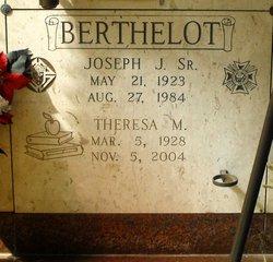 Theresa <I>Millet</I> Berthelot