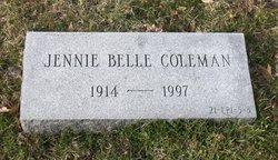Jennie Belle Coleman