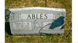 Shirley M. <I>Balser</I> Ables