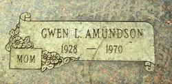 Gwen L Amundson