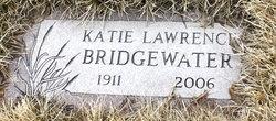 Katie Mae <I>Lawrence</I> Bridgewater