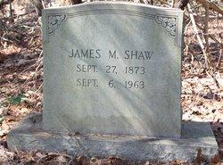 James M Shaw