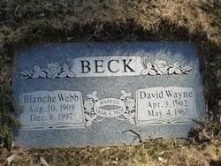 Blanche Bernice <I>Webb</I> Beck