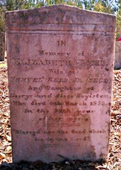 Elizabeth <I>Boylston</I> Reed