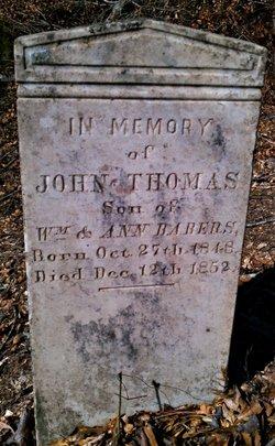 John Thomas Babers