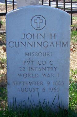 John H Cunningham