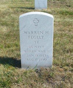 Warren Harold Fegely