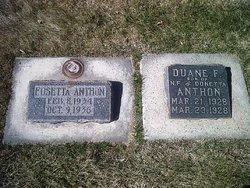 Duane Foster Anthon