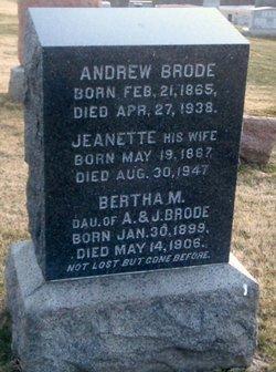 Jeanette <I>Hill</I> Brode