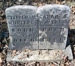 Sarah E <I>Duckworth</I> Winters