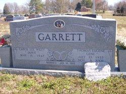 """Thomas Eugene """"Gene"""" Garrett"""