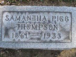 Samantha <I>Pigg</I> Thompson