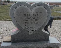 Kristi D'Ann <I>Roberson</I> Barton