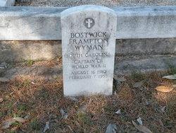 Bostwick Frampton Wyman, Sr