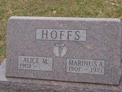 Alice Mae <I>Brower</I> Hoffs