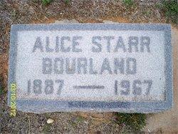 Mary Alice <I>Starr</I> Bourland