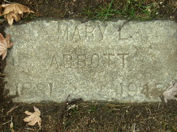 Mary L Abbott