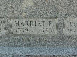 Harriett Elizabeth <I>Sowers</I> Allen