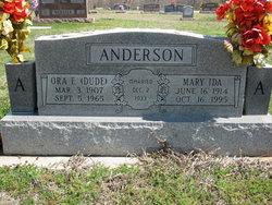 Mary Ida Anderson
