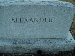 Elsie E <I>Baum</I> Alexander