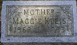"""Margaret """"Maggie"""" <I>Saggers</I> Kleis"""