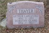 Arthur Langford Thayer, Sr