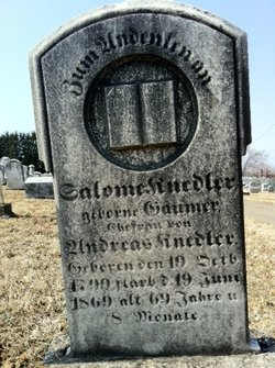 Salome Däsch <I>Gaumer</I> Knedler