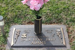 Sarah Lynn <I>Jolly</I> Adams