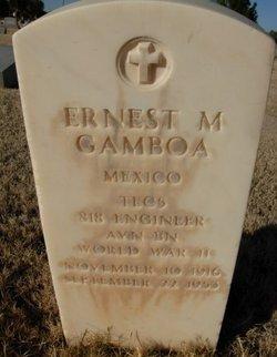 Ernest M Gamboa