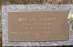 Roy Lee Cassidy