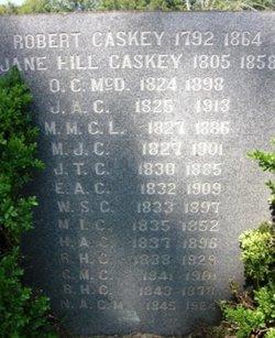 Jane <I>Hill</I> Caskey