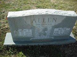 Nettie Ruth <I>Hutchens</I> Allen
