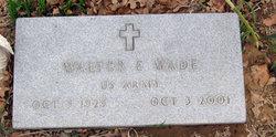 Walter Edward Wade