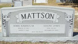 Demal I. Mattson