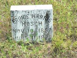 Fronie <I>Harris</I> Hosch