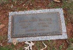 Lillie Matilda <I>Cox</I> Mauser