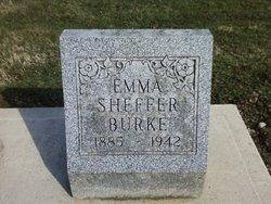 "Zella Maude ""Emma"" <I>Sheffer</I> Burke"