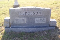 Henry E Fergeson