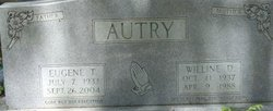"""Eugene T """"Cowboy"""" Autry"""