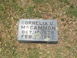 Cornelia U. McCammon