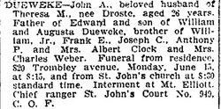 John A. Dueweke