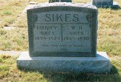 Louvicy Jane <I>Vick</I> Sikes
