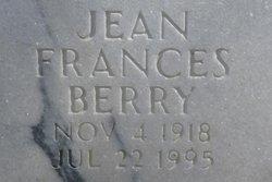 Jean Frances Berry
