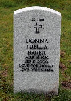 Donna Luella <I>Ogreen</I> Bauer