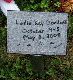 Leslie Kay <I>Day</I> Deardorff